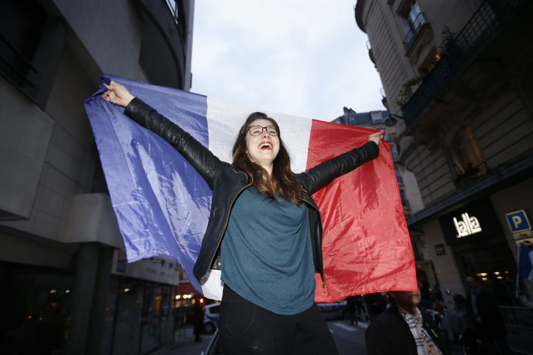 Votante del candidato de 'En Marche!'.