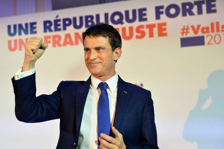 El exprimer ministro socialista Manuel Valls.
