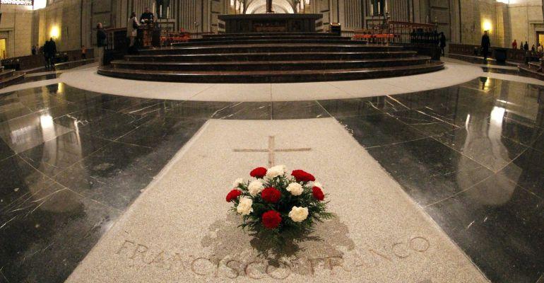 Vista del interior de la basílica del Valle de los Caídos, lugar donde está enterrado el dictador Francisco Franco.