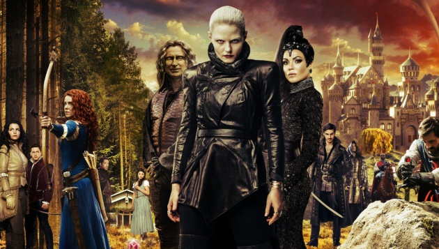 Parte del reparto de 'Once Upon a Time'