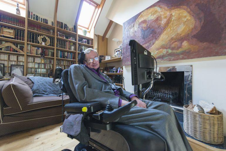 El profesor Stephan Hawking