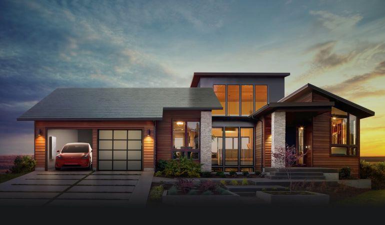 Ya pueden reservarse los tejados solares de Tesla.