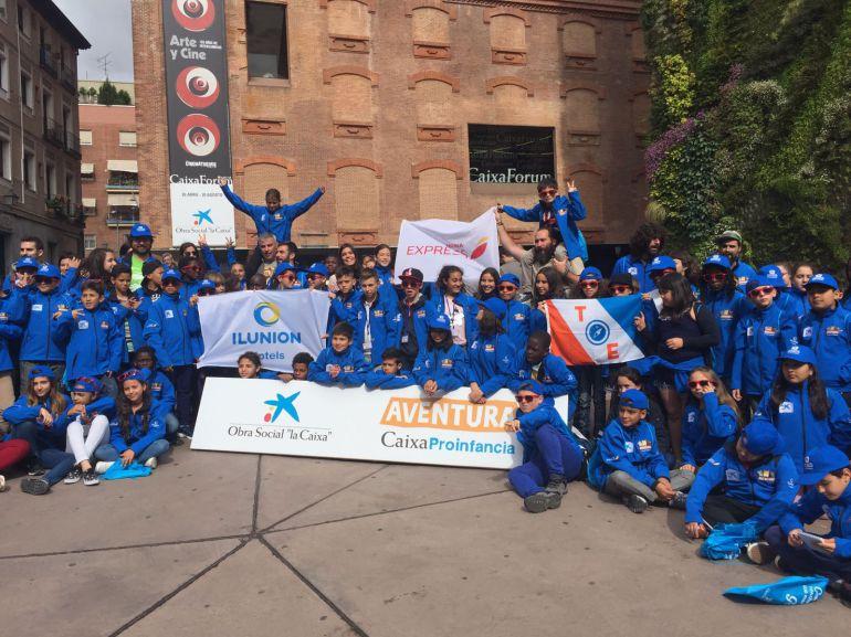 La aventura de cien niños en exclusión