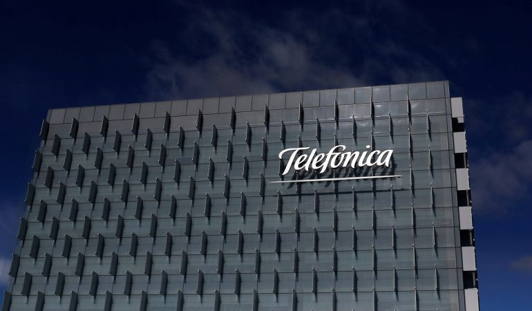 Sede central de Telefónica en Madrid.