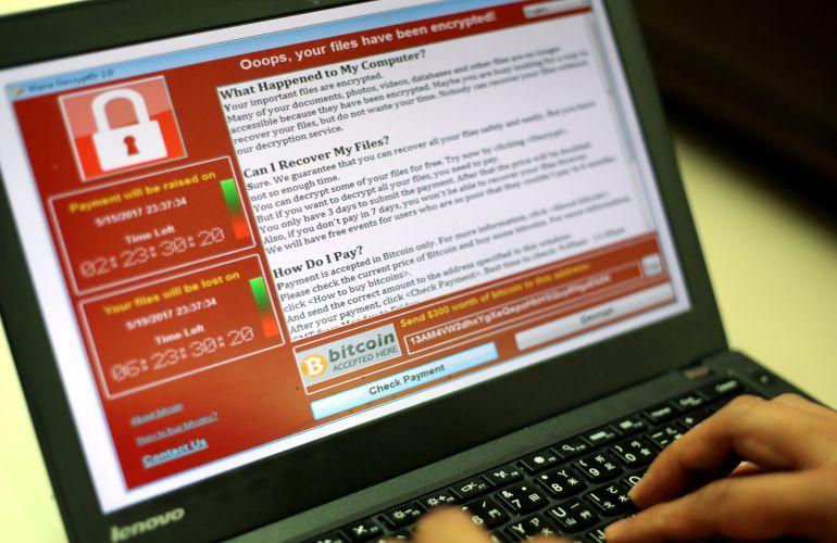 El ciberataque afecta a 104 países con 126.000 casos detectados, según Avast