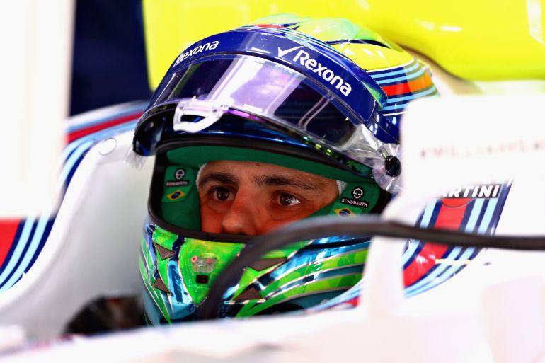 Felipe Massa, durante el Gran Premio de España.