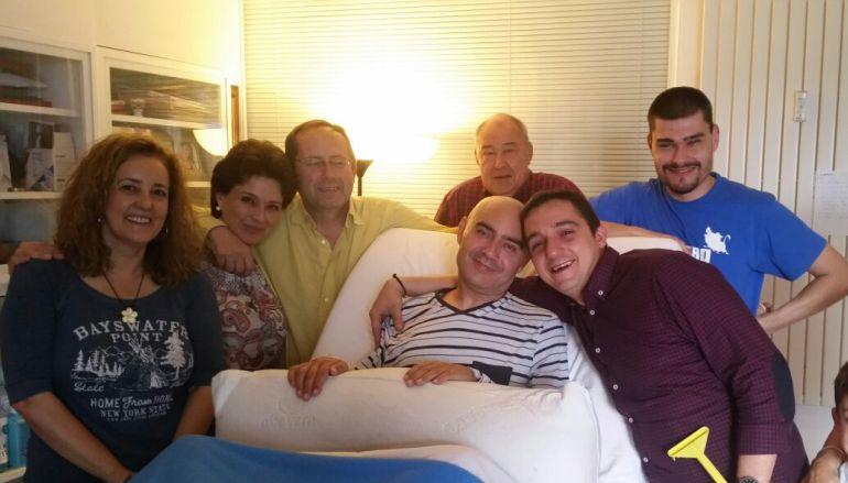 Un enfermo de esclerosis múltiple pide que le dejen morir con dignidad