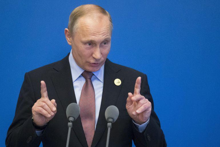 Vladmir Putin, presidente de Rusia