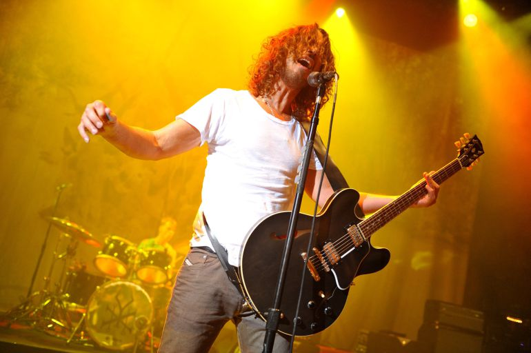 Chris Cornell, de Soundgarden, durante un concierto en noviembre de 2012 en Londres