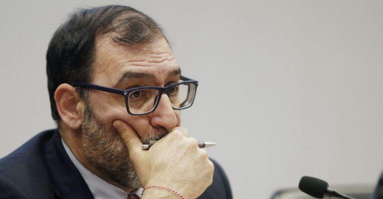 Fotografía del 10 de marzo de 2017 del juez de los casos Lezo y Púnica, Eloy Velasco.