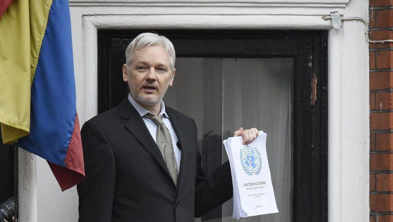 El fundador de WikiLeaks, Julian Assange, en una imagen de 2016.