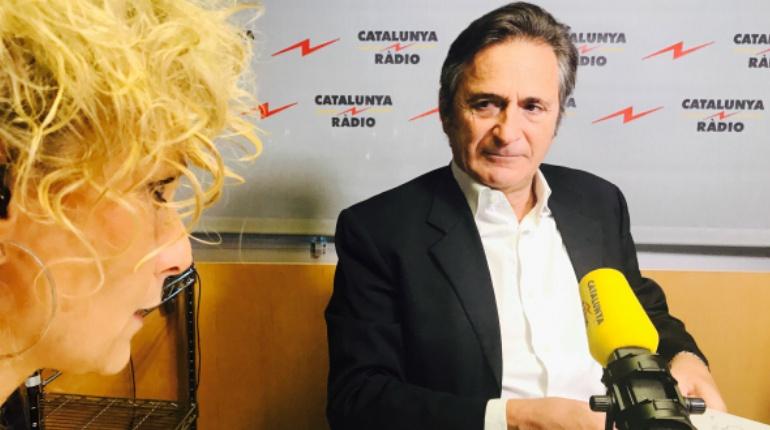 Josep Pujol Ferrusola, durante la entrevista.