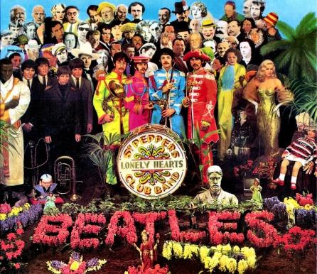 Portada del mítico disco de los Beatles