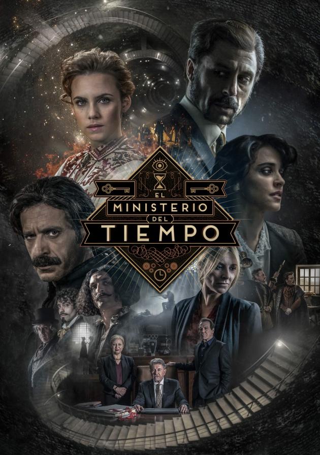 Póster oficial de la tercera temporada de 'El Ministerio del Tiempo'