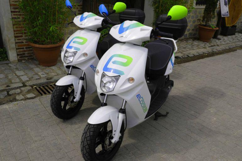 transporte ecológico scooter compartida