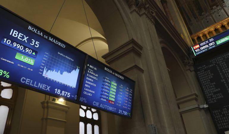 Datos del IBEX: avanza un 0,92%