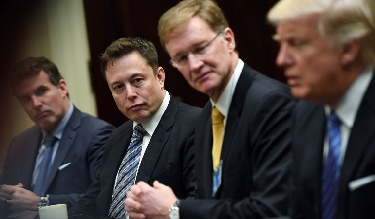 Elon Musk abandona el consejo de Trump.