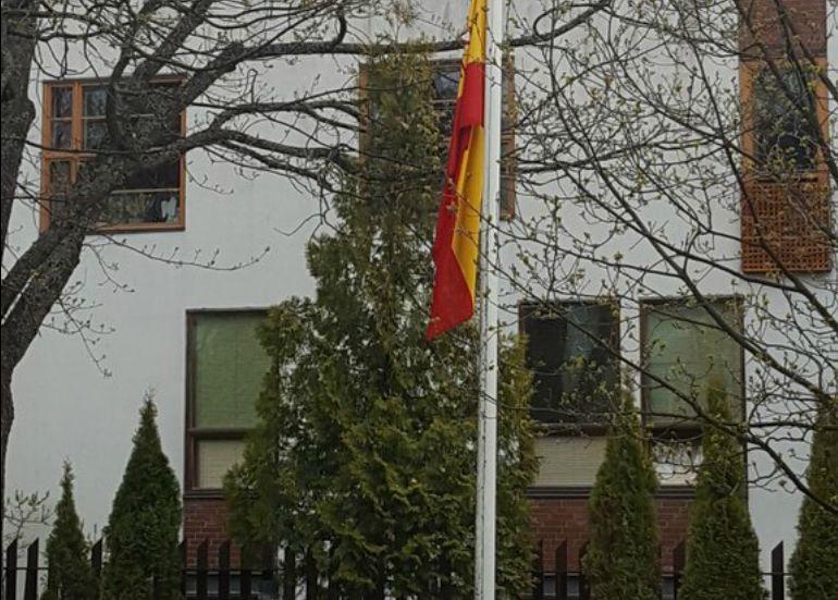 Imagen de la embajada de España en Finlandia.