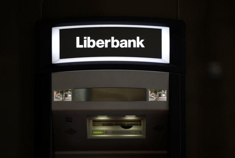 Un cajero del Liberbank en Oviedo