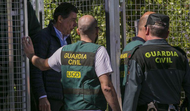 Detención de Ignacio González por la operación Lezo, en una foto de archivo.