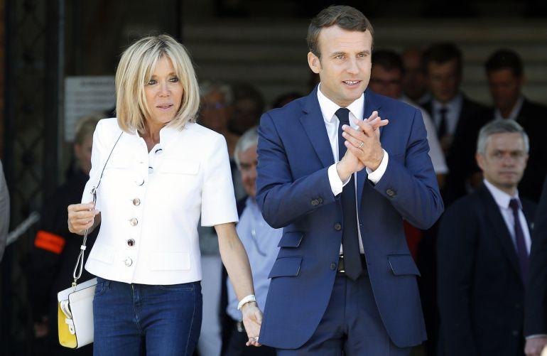 La marea Macron supera el 32% en la primera vuelta