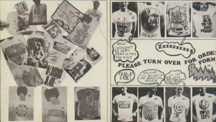 Diseños de Mr Freedom realizados por Roger Lunn.