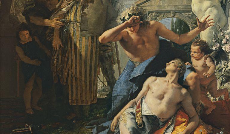 TIEPOLO. La muerte de Jacinto.
