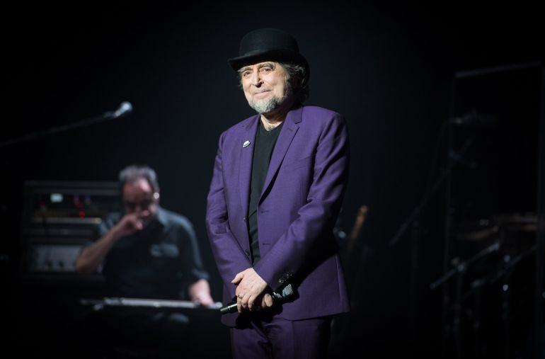 Joaquín Sabina, en el Royal Albert Hall este 14 de junio.