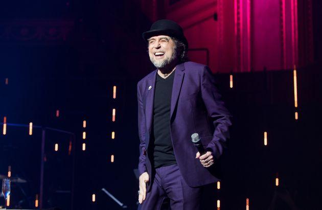Joaquín Sabina disfrutó sobre el escenario del Royal Albert Hall.