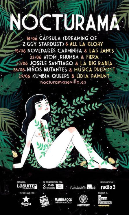 Cartel Nocturama 2017.