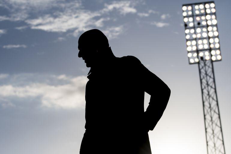 Zidane, durante un partido del Real Madrid
