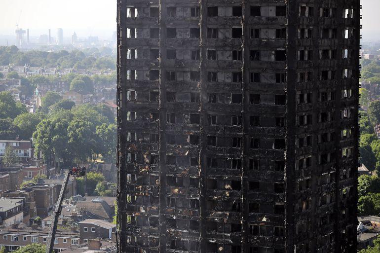 Resultado de imagen para Torre de vivienda incendiado en Londres
