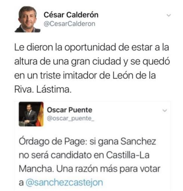 Óscar Puente borra más de 52.000 tuits tras ser nombrado portavoz del PSOE