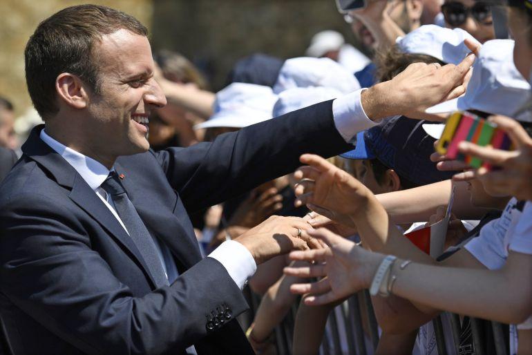 Macron consigue la mayoría absoluta en las legislativas