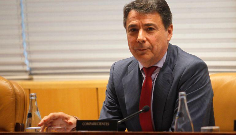 El expresidente de la Comunidad de Madrid Ignacio González, en una foto de archivo durante la comisión de investigación de la corrupción de la Asamblea de Madrid.