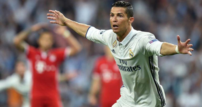 Cristiano Ronaldo celebra uno de sus goles al Bayern en la última Champions.