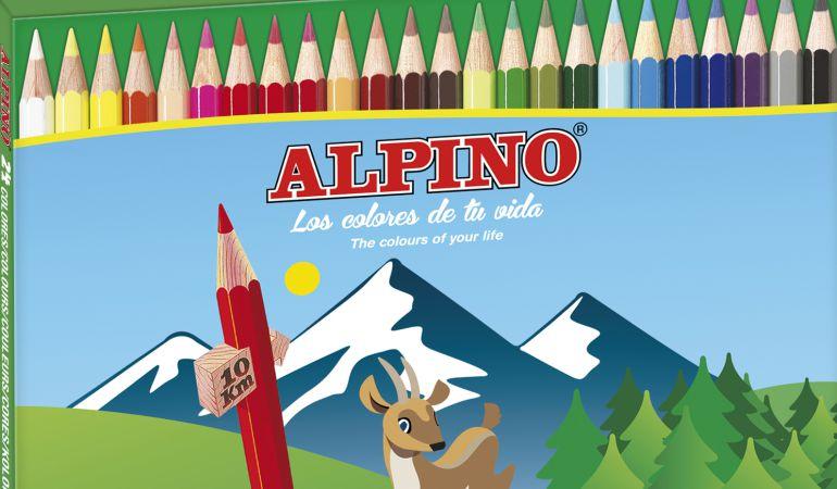 La caja de pinturas de Alpino.