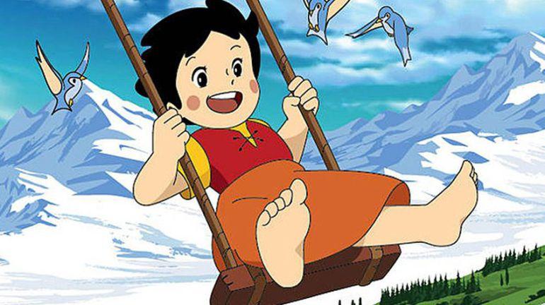 Imagen de la popular Heidi, personaje a la que ponía voz la dobladora.