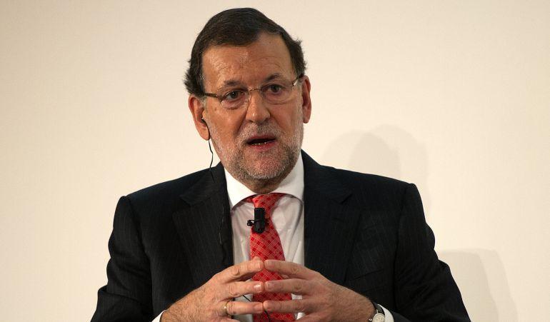 Presidente del Gobierno Mariano Rajoy.
