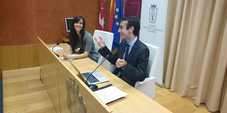 El juez Ruiz de Lara en el Colegio de Abogados de Madrid