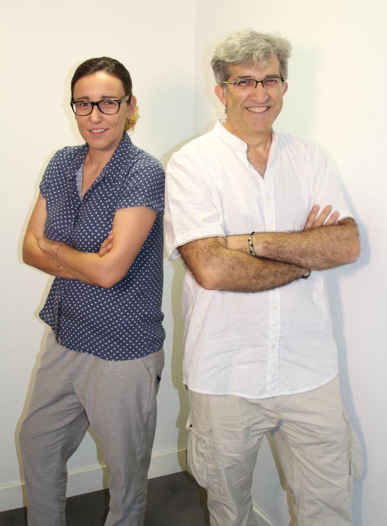 Carlos Hurtado y Carmen Socías