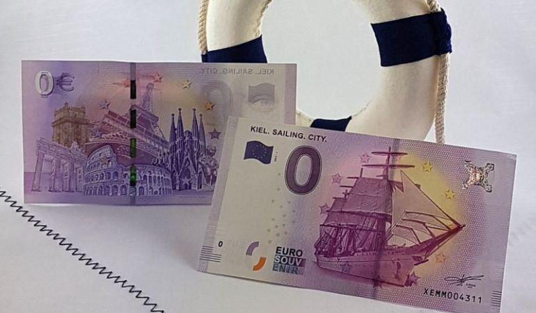 El billete de 0 euros sale a la venta.