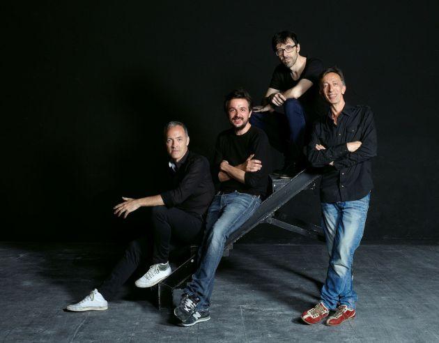 Equipo gestor del Pavón Teatro Kamikaze: Miguel del Arco, Jordi Buxó, Israel Elejalde y Aitor Tejada