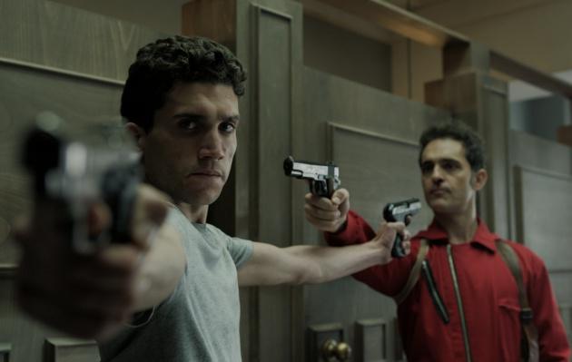 Jaime Lorente y Pedro Alonso en 'La Casa de Papel'
