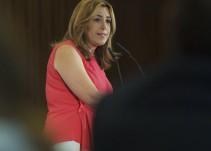 Susana Díaz se muerde la lengua en el tema Ceballos