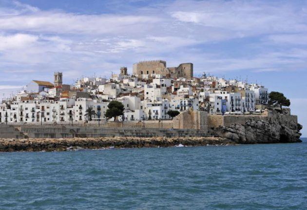 En el castillo de Peñíscola se ha grabado parte de la sexta temporada de 'Juego de Tronos'.