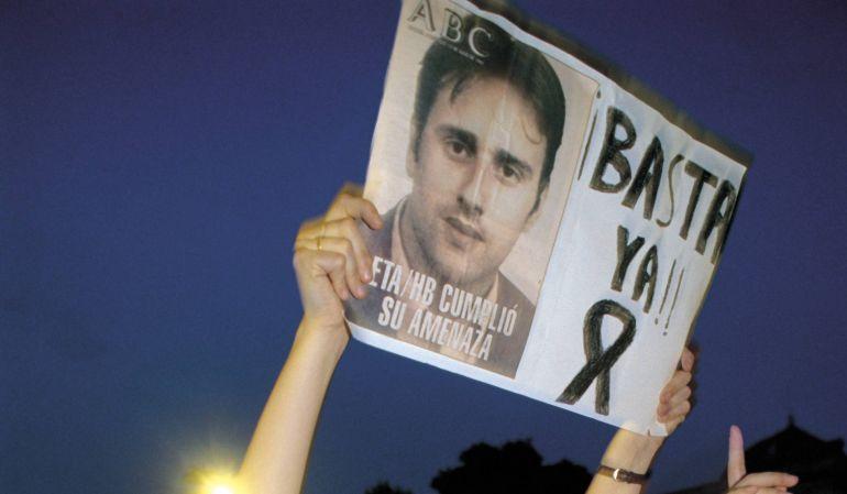 Aniversario del secuestro y muerte de Miguel Ángel Blanco.