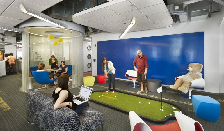 Las oficinas de google m s espectaculares del mundo donde for Oficinas de youtube mexico