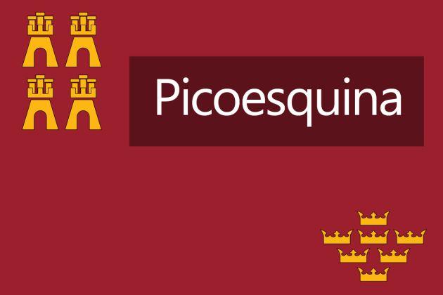 La palabra Picoesquina goza de gran popularidad en Murcia.