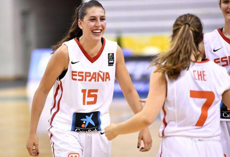 La selección española de baloncesto SUB-20.
